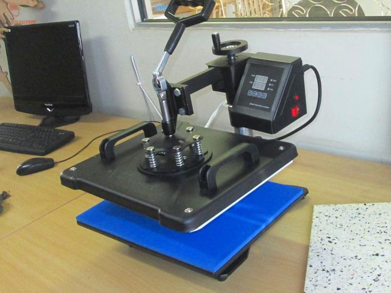 H-PRESS/MT8 Heatware MT8 1400W Heat Press Multitalent, Flat Heating Press & All 3D Shape