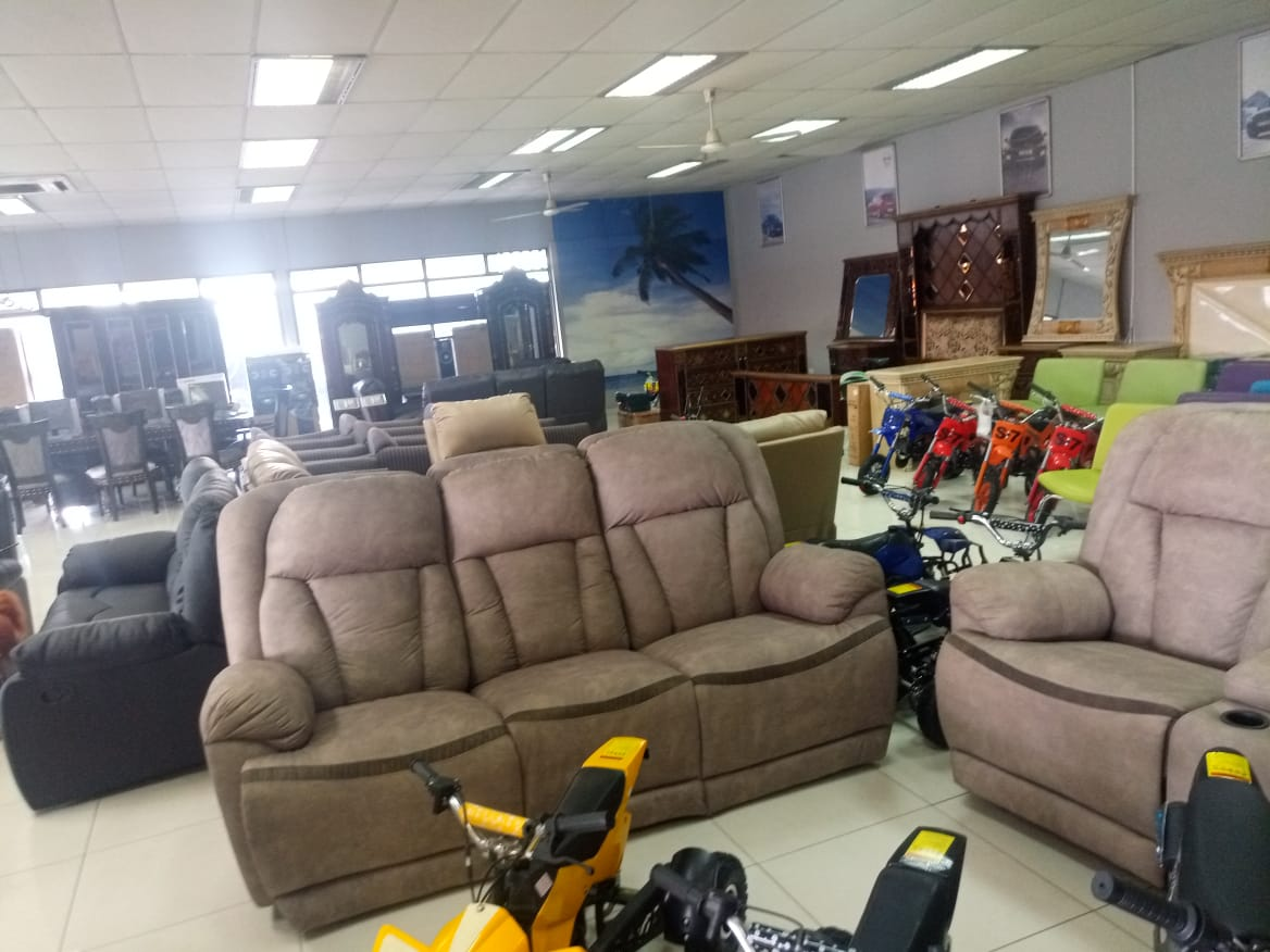 Living room furniture on auction