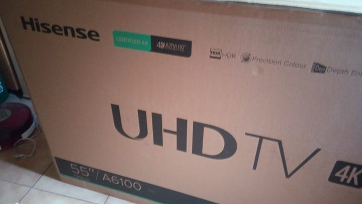 "55"" Brand new Hisense smart tv"