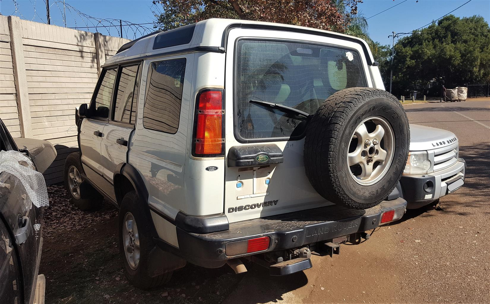 Land Rover Discovery 2 TD5 - Striping for spares