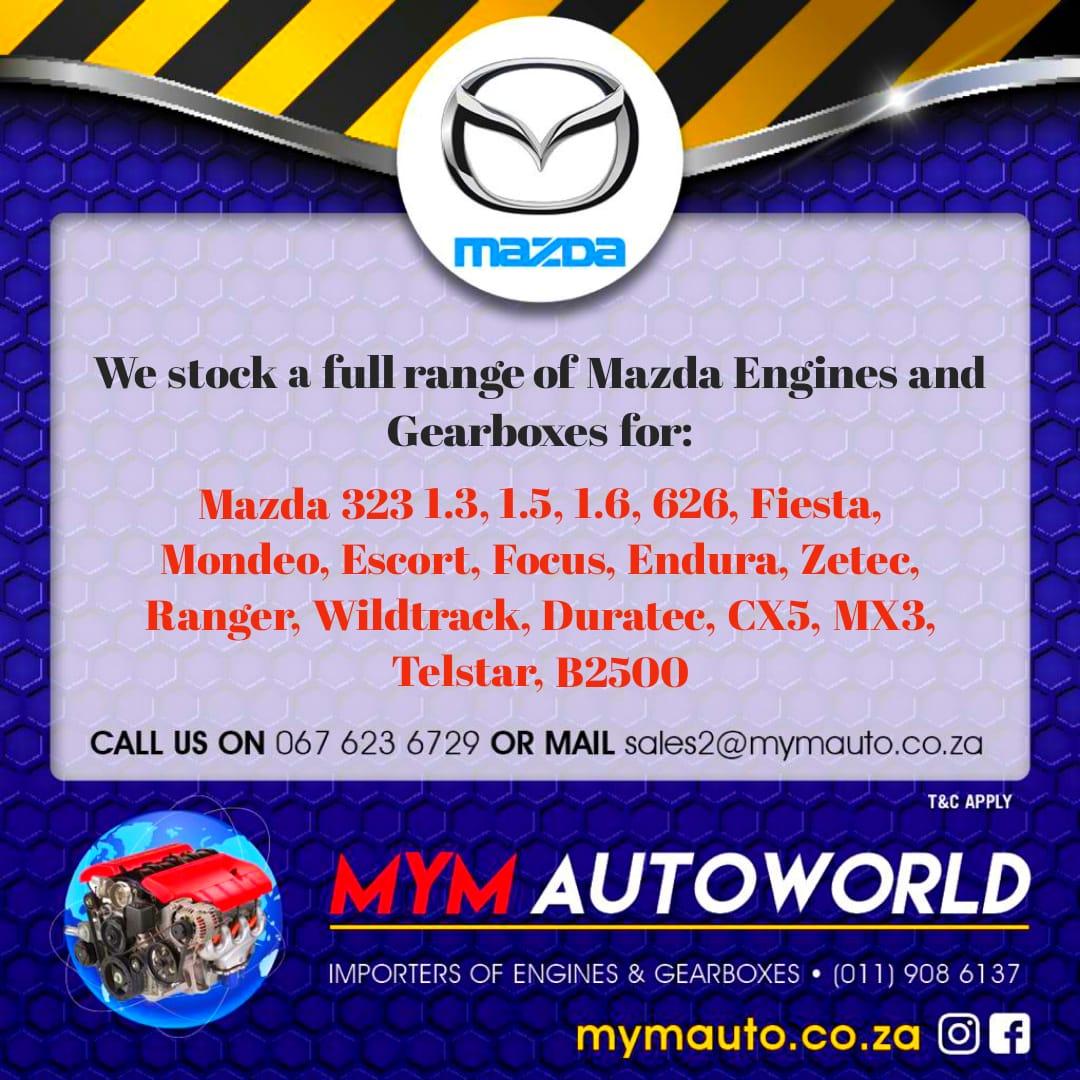 MAZDA 3/5/6 2.3 TURBO engine Complete