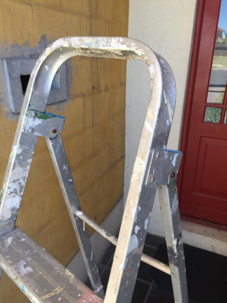 Handy 4-step Painters and contractors  Aluminium ladder