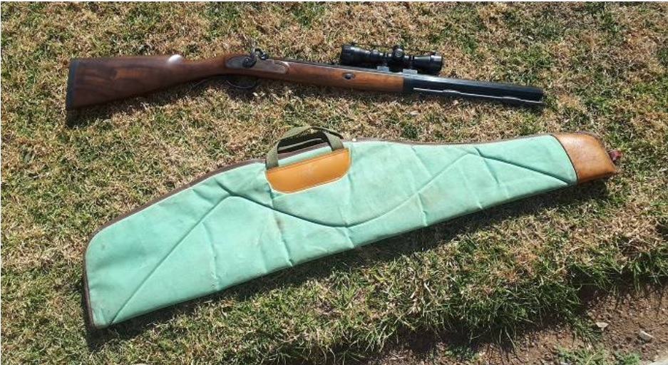 54 cal lyman deerstalker black powder rifle