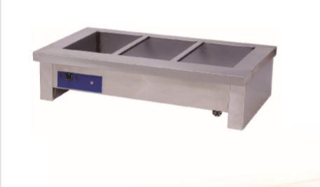 6 DIVISION BAIN MARIE (TABLE TOP) GAS - 2180x700x300mm-6DBMTTG