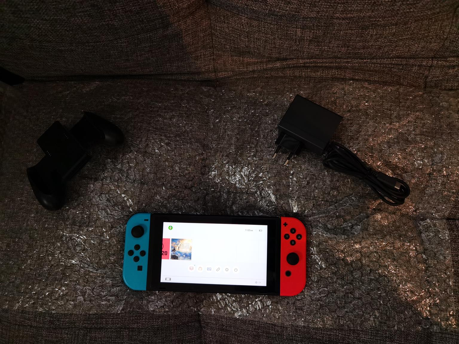 Nintendo switch brand new Neon And Red used a few times