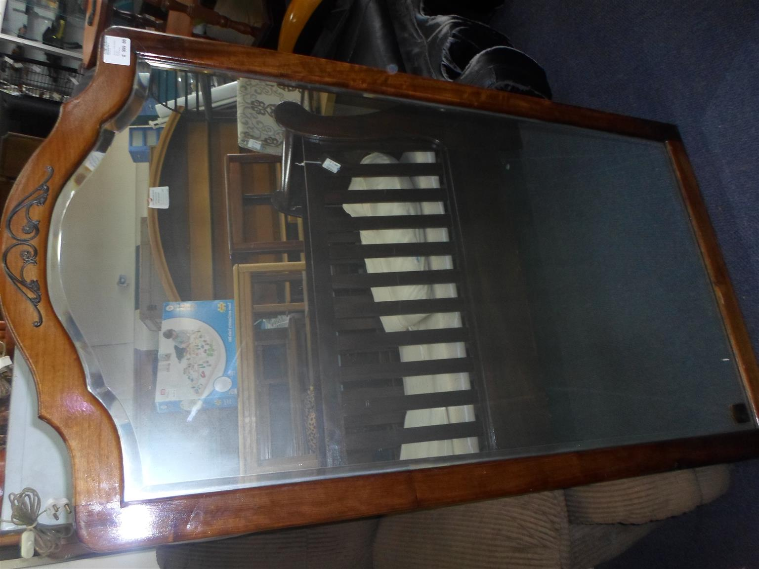 Wooden Framed Mirror
