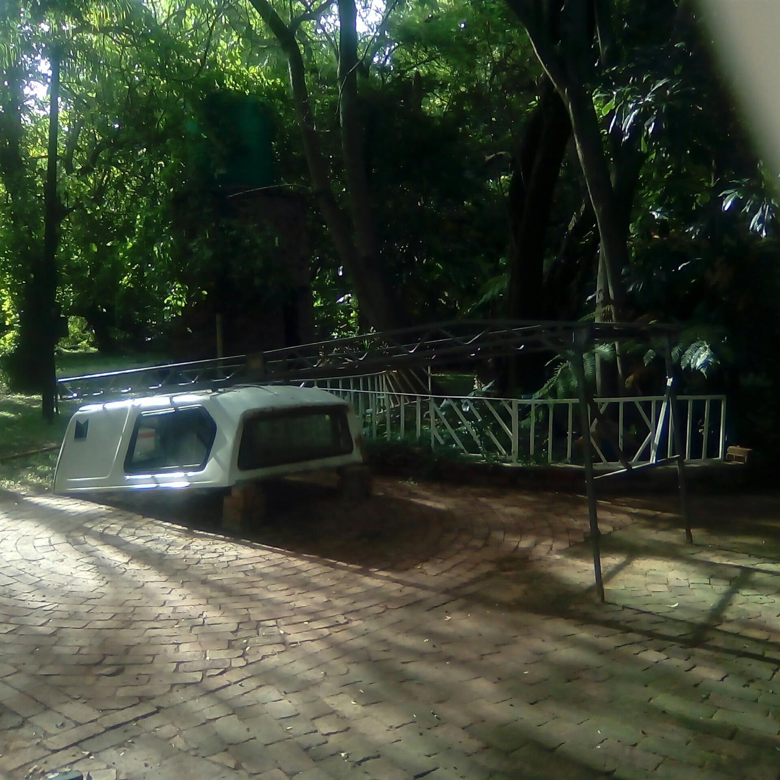 Canopy en dakrak vir GWM bakkie