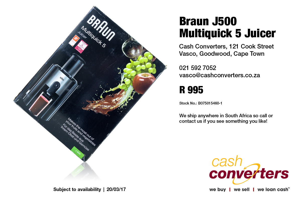 Braun J500 Multiquick 5 Juicer