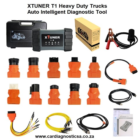 TRUCK DIAGNOSTIC XTUNER T1 Heavy Duty Trucks Auto Intelligent Diagnostic Tool Support WIFI