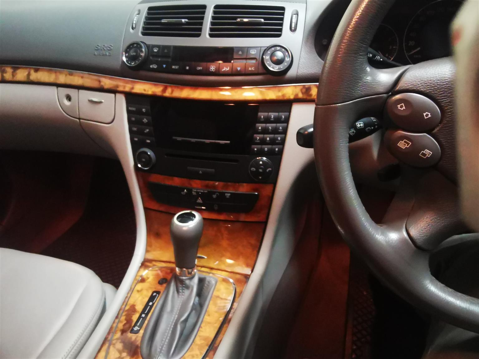 2007 Mercedes Benz E-Class E300 cabriolet
