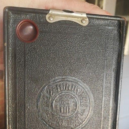 antique Kodak kamera