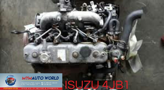 IMported used ISUZU RODEO 2.8L 4 CYLINDER, 4JB1 ENGINE Complete