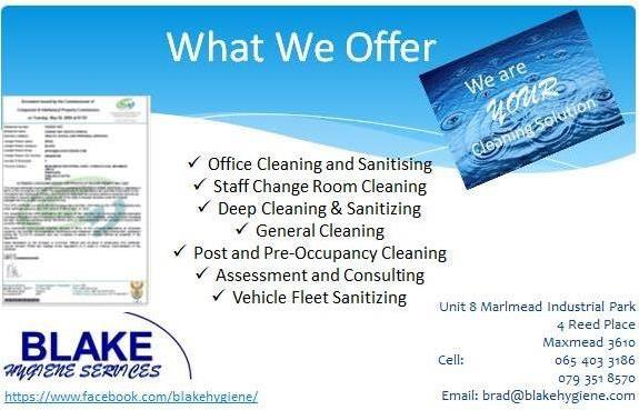 Hygiene and Cleaning services, Vehicle Sanitizing