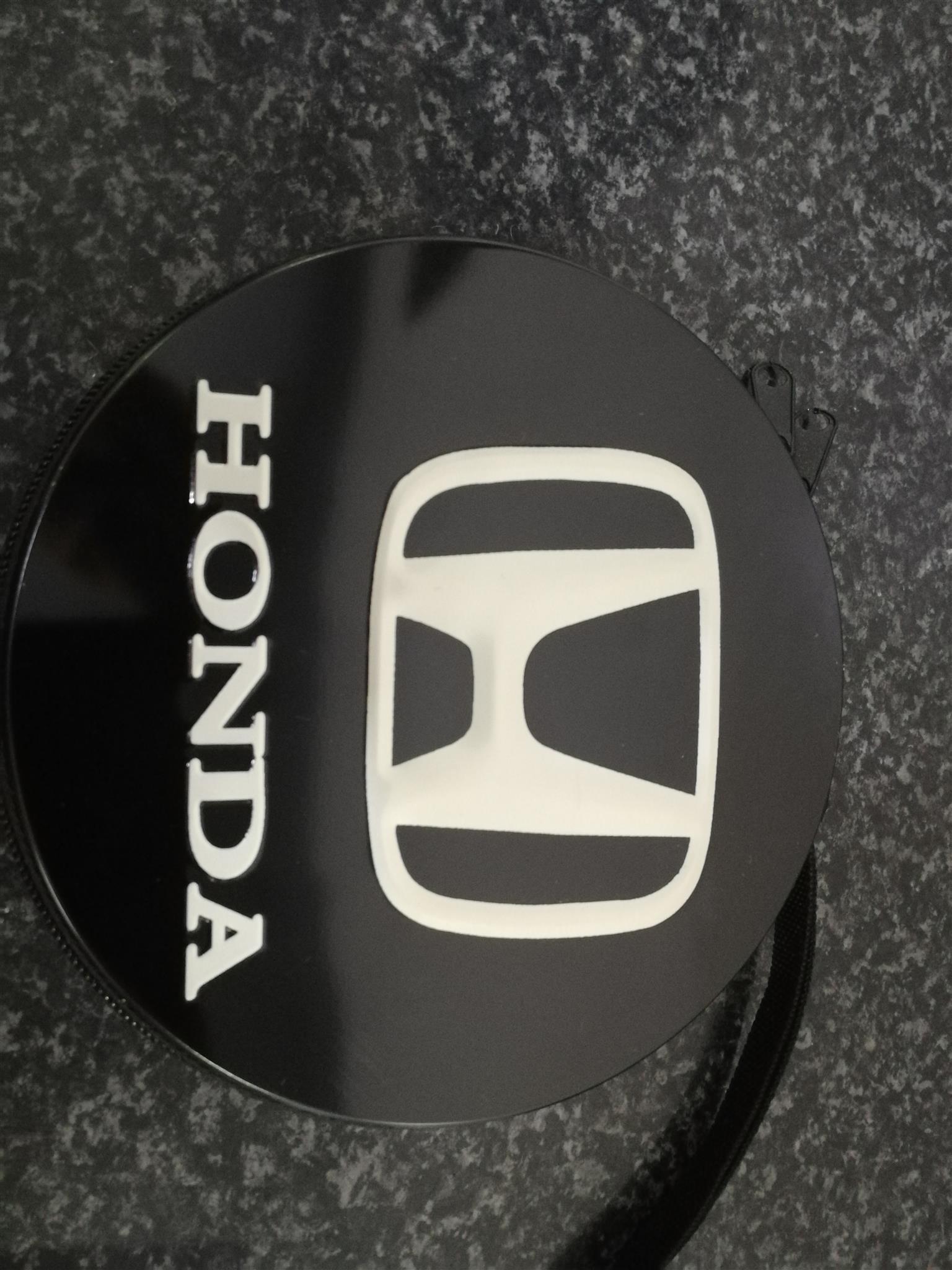Watch With Honda Logo and Honda 24 Dvd Disc Holder