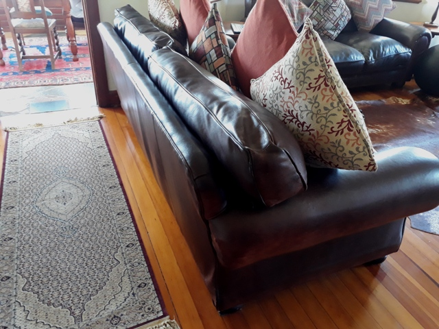 Kudu Leather Couch