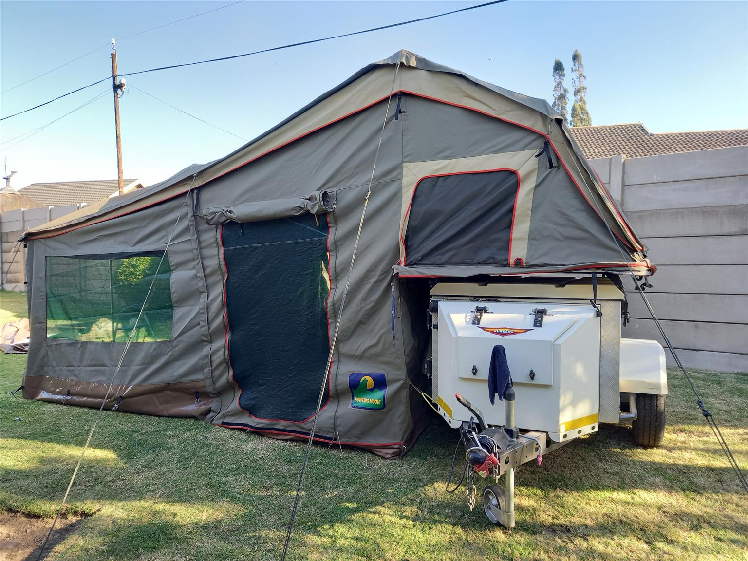 Jurgens xt65B camp trailer plus cash to swop for Sherpa TinyTiny