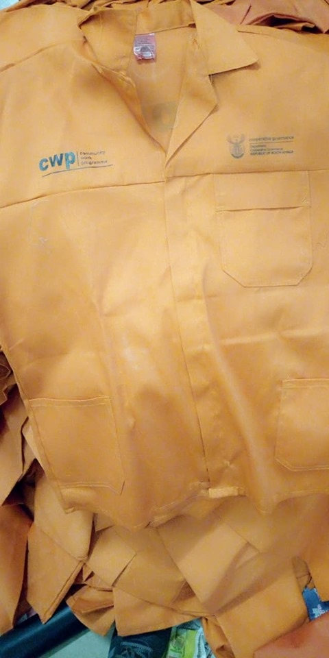 EPWP uniforms and Workwear