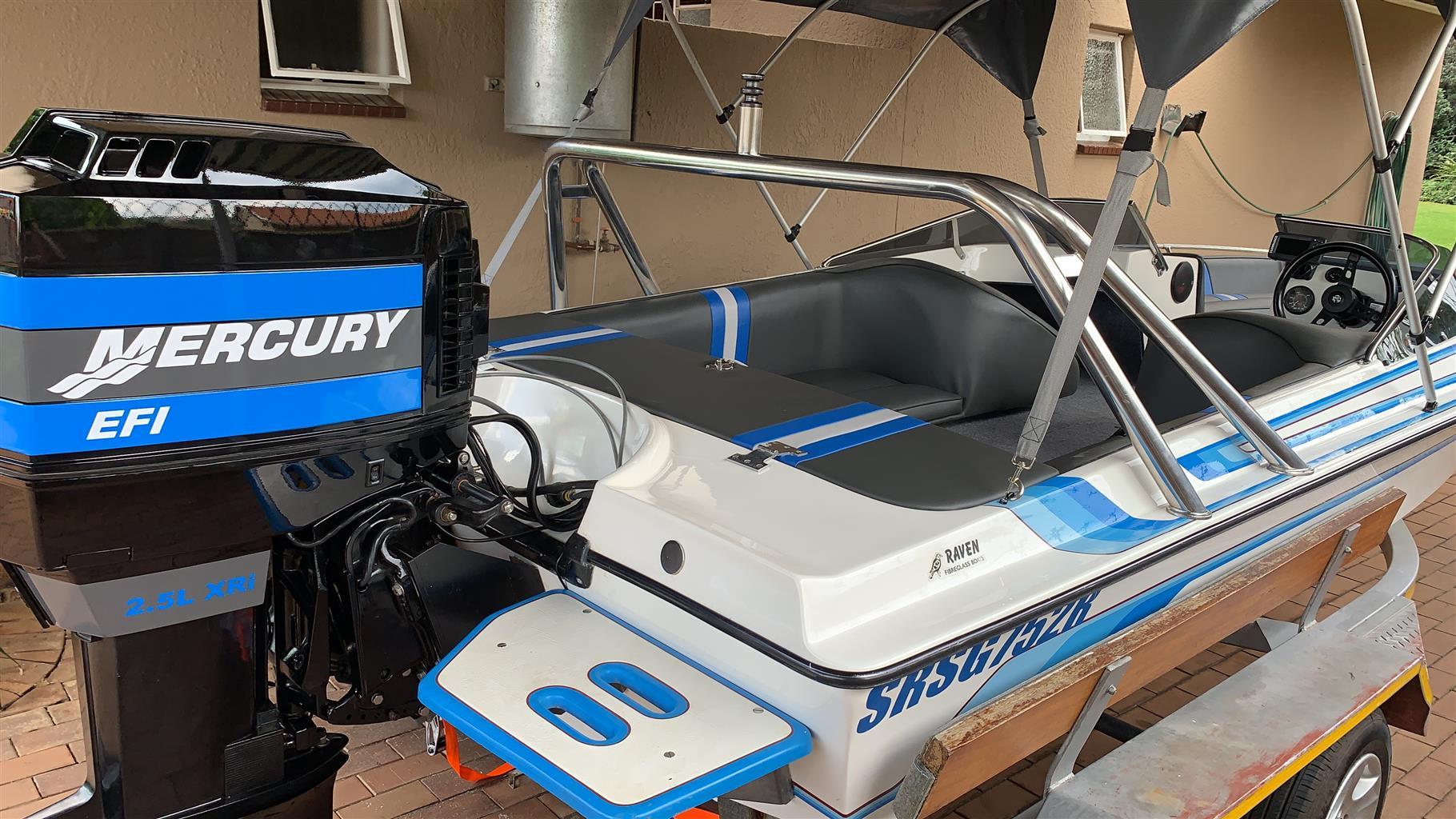 Raven Bowrider 17ft & Mercury 200HP 2.5L V6 XRI