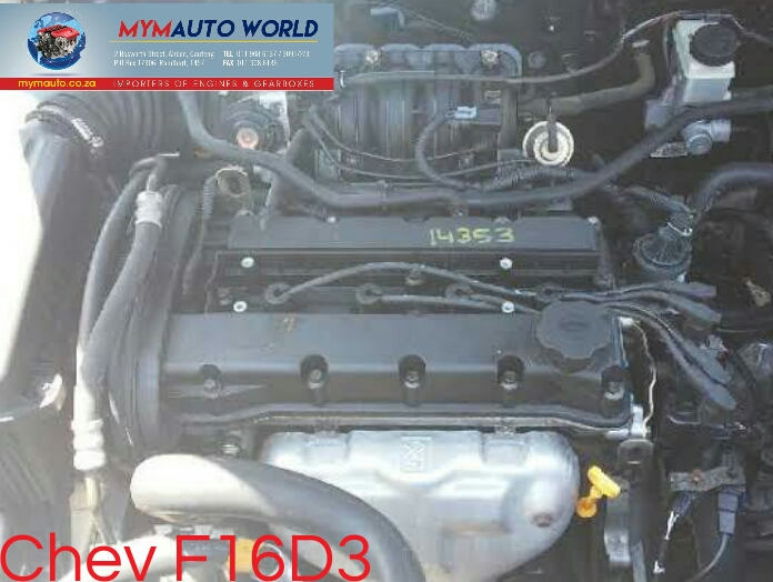 imported used CHEV CRUZE 1.6L FWD, F16D3Complete second hand used engines
