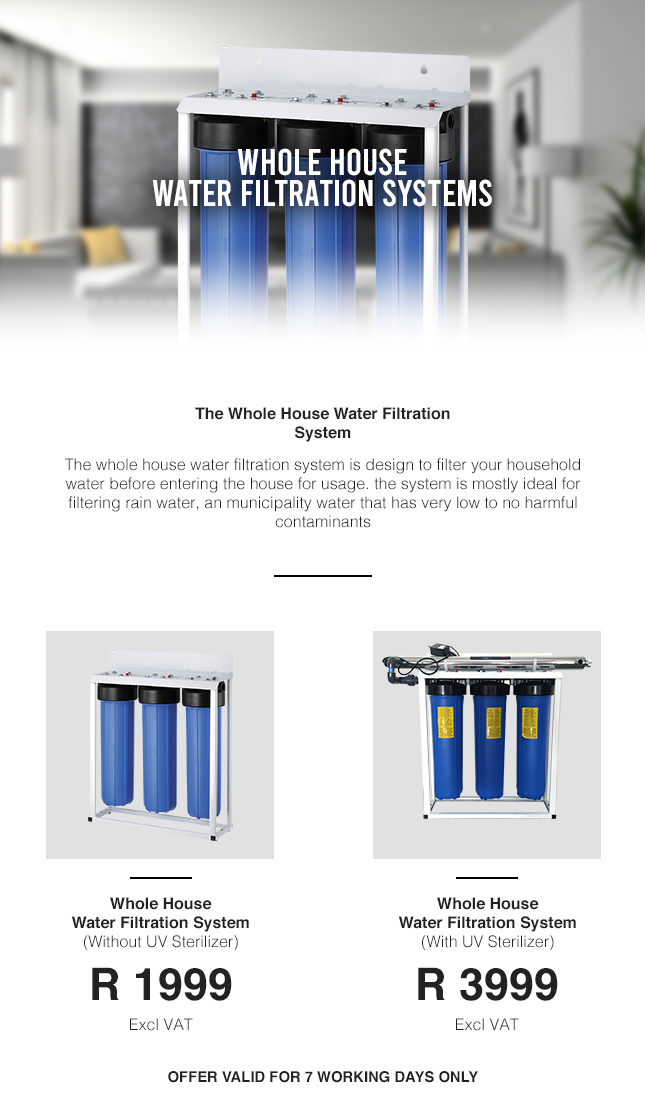 Whole House system for house hold.