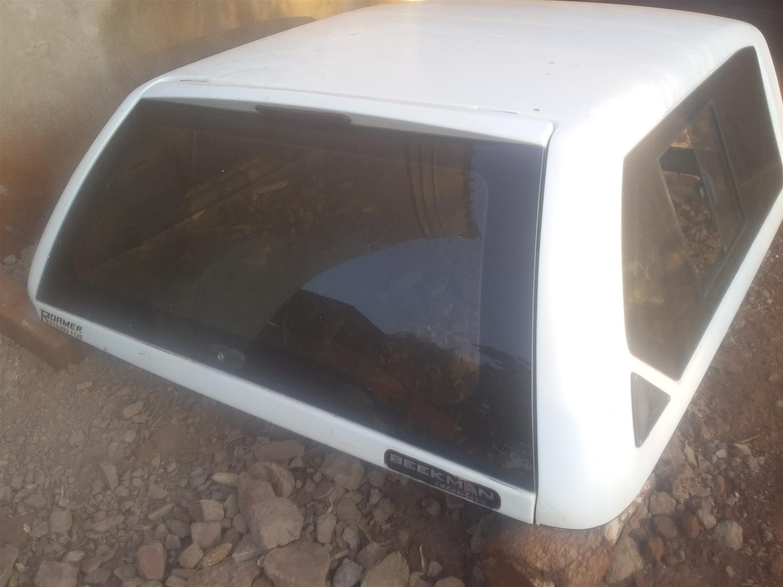 Ford ranger d/cab canopy