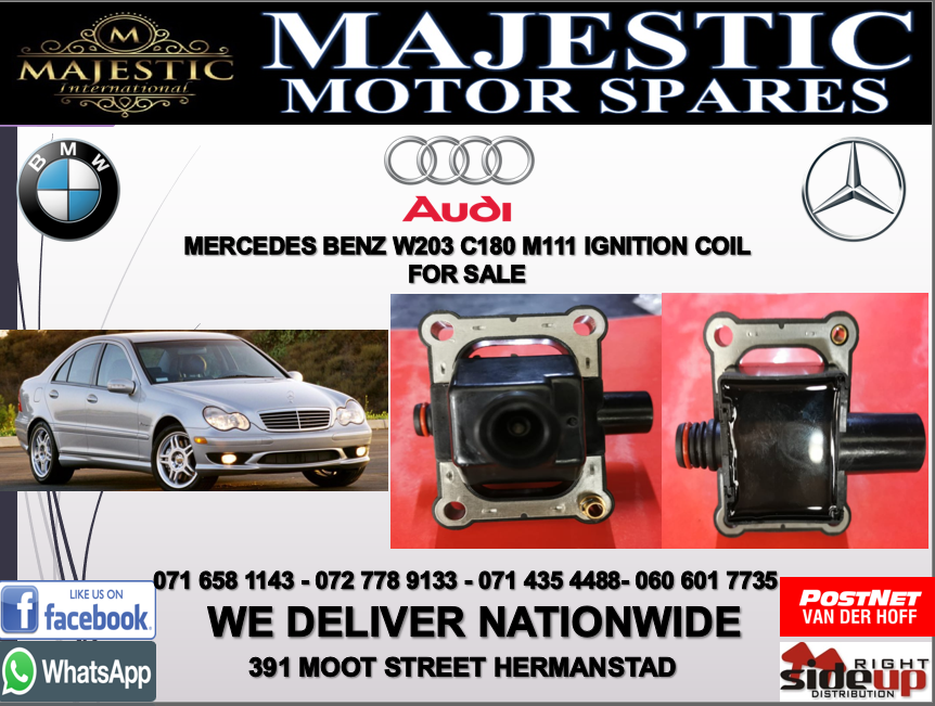 Mercedes benz W203 C180 M111 ignition coil for sale
