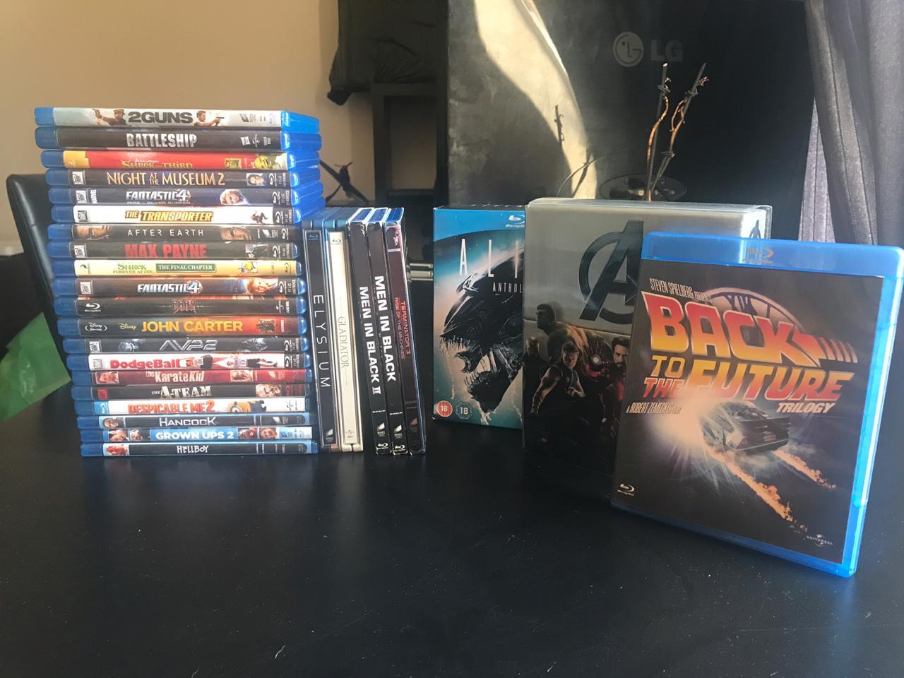 25 Blu Ray Titles + 3 Boxsets