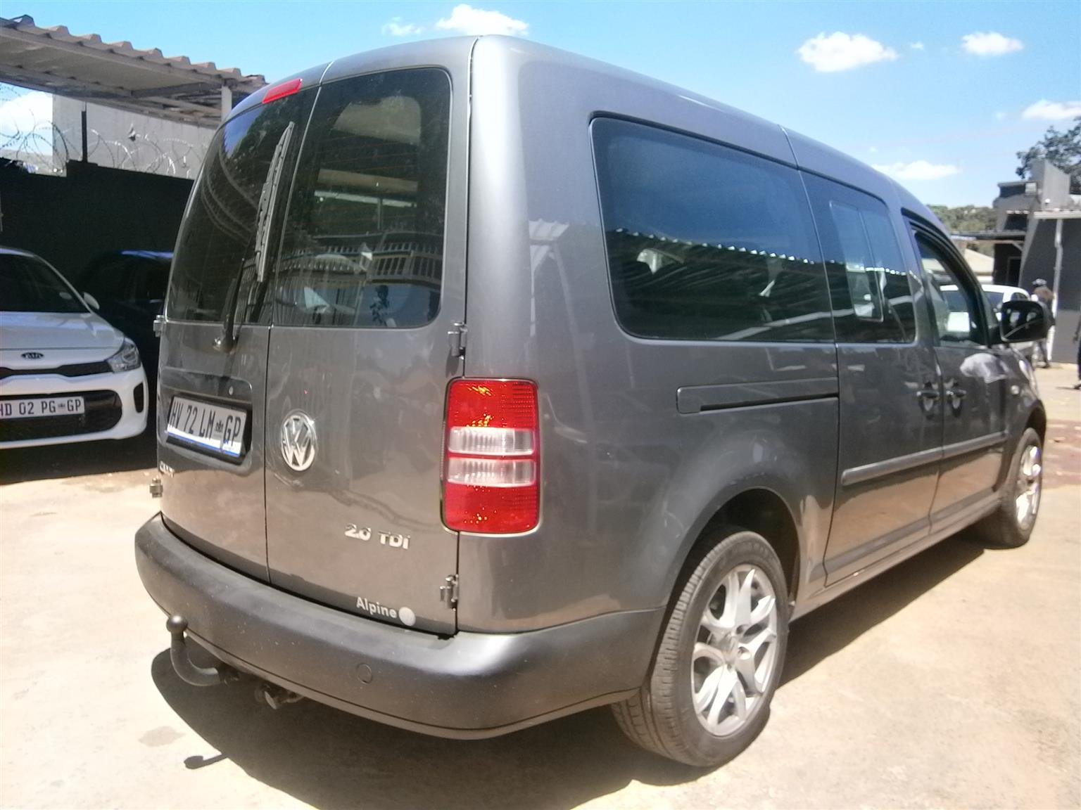2012 VW Caddy crew bus CADDY CREWBUS 2.0 TDi