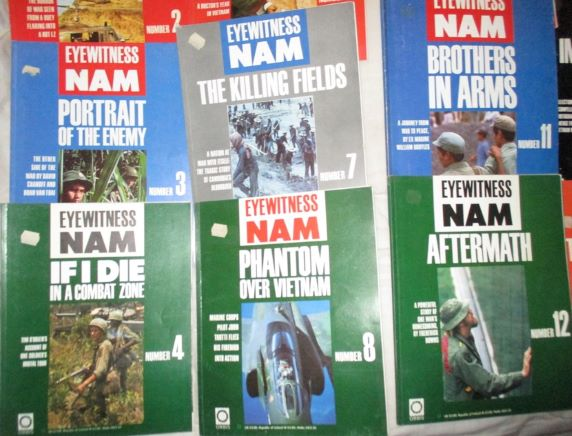 Eyewitness Nam Magazines x 21 plus