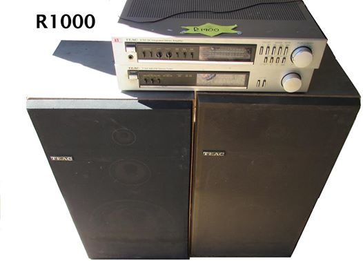 Teac Amp. 160 W With Speakers For SALE R 1,000