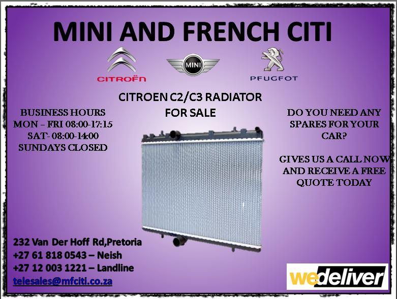 Citroen radiator for sale