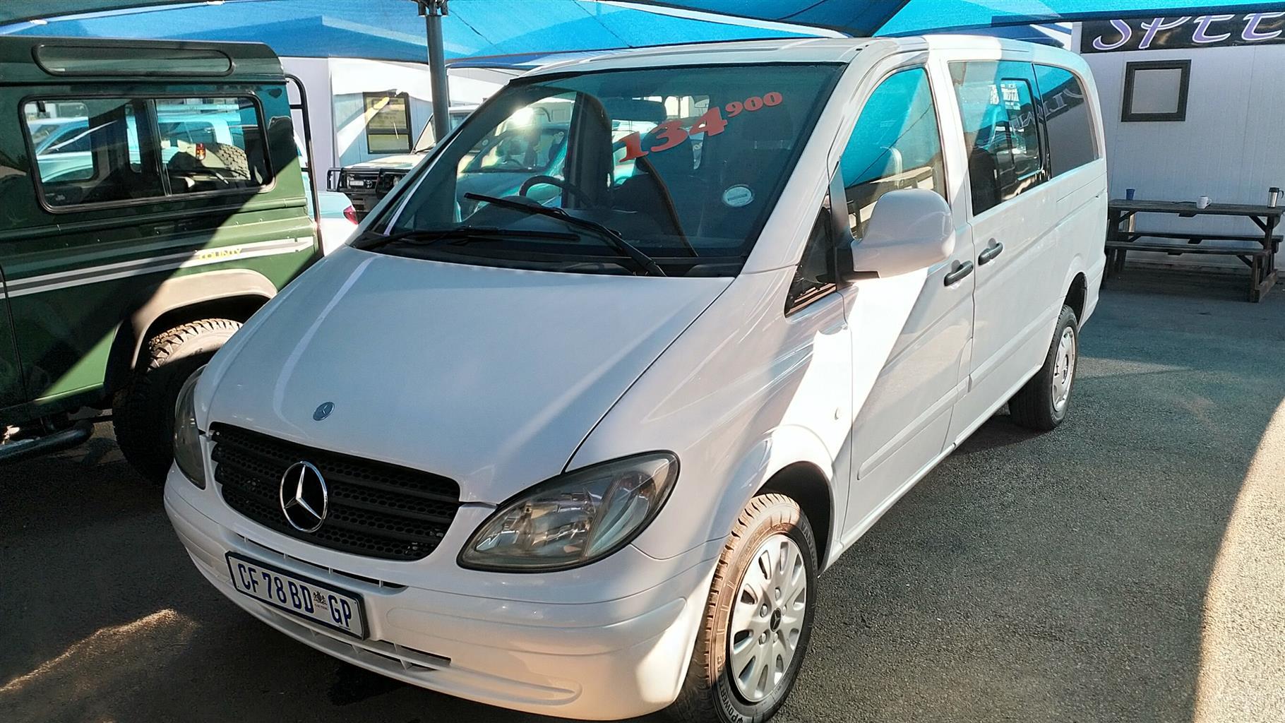 0f65b6f59429ca 2006 Mercedes Benz Vito 115 CDI 2.2 crew bus