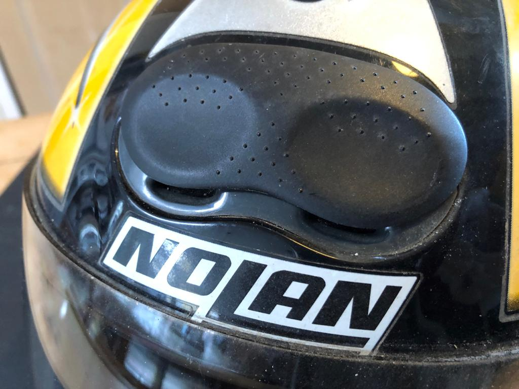 Italian Nolan Integrale N60 XL Motorbike Helmet