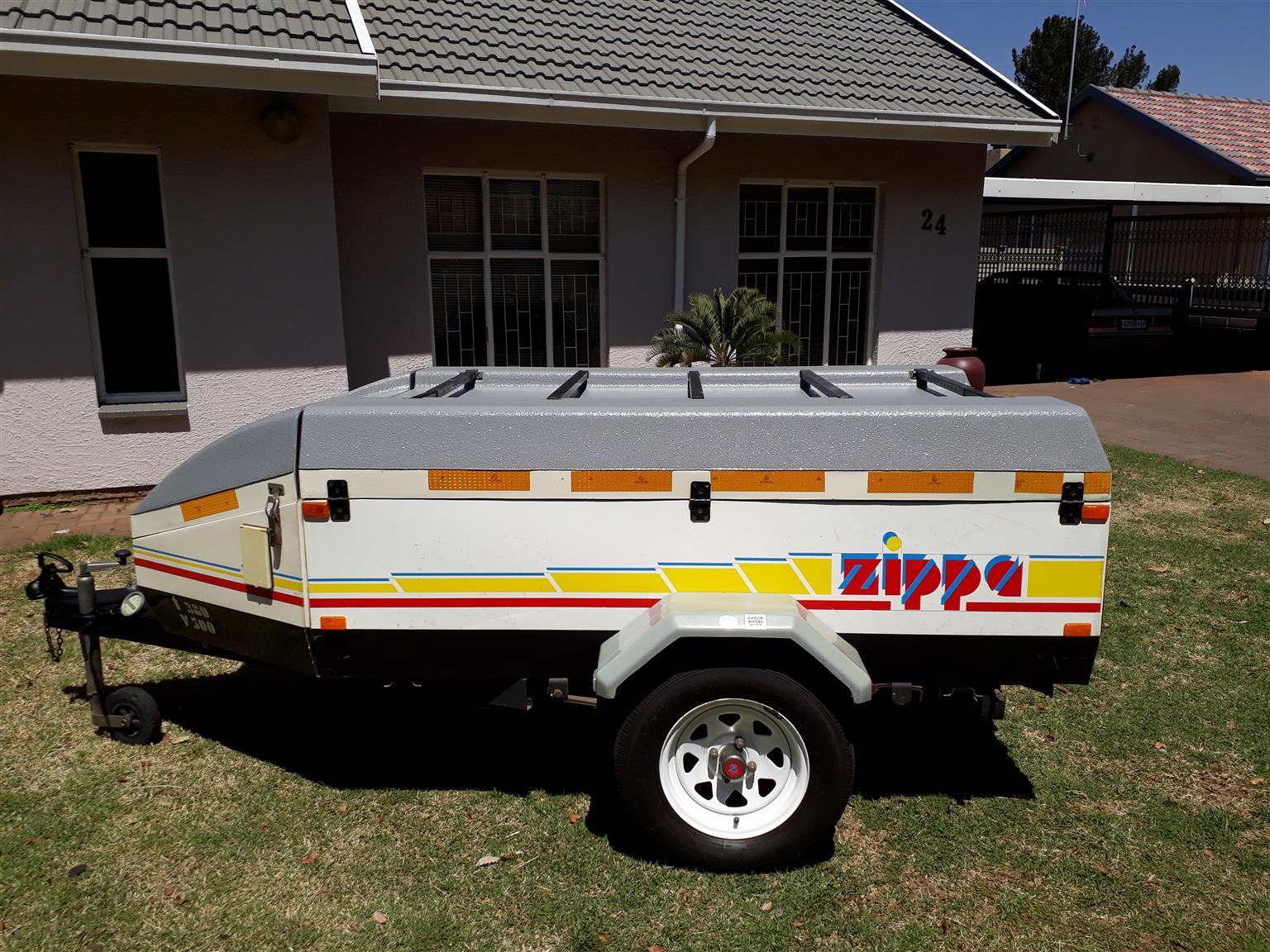 Zippa caravan trailer