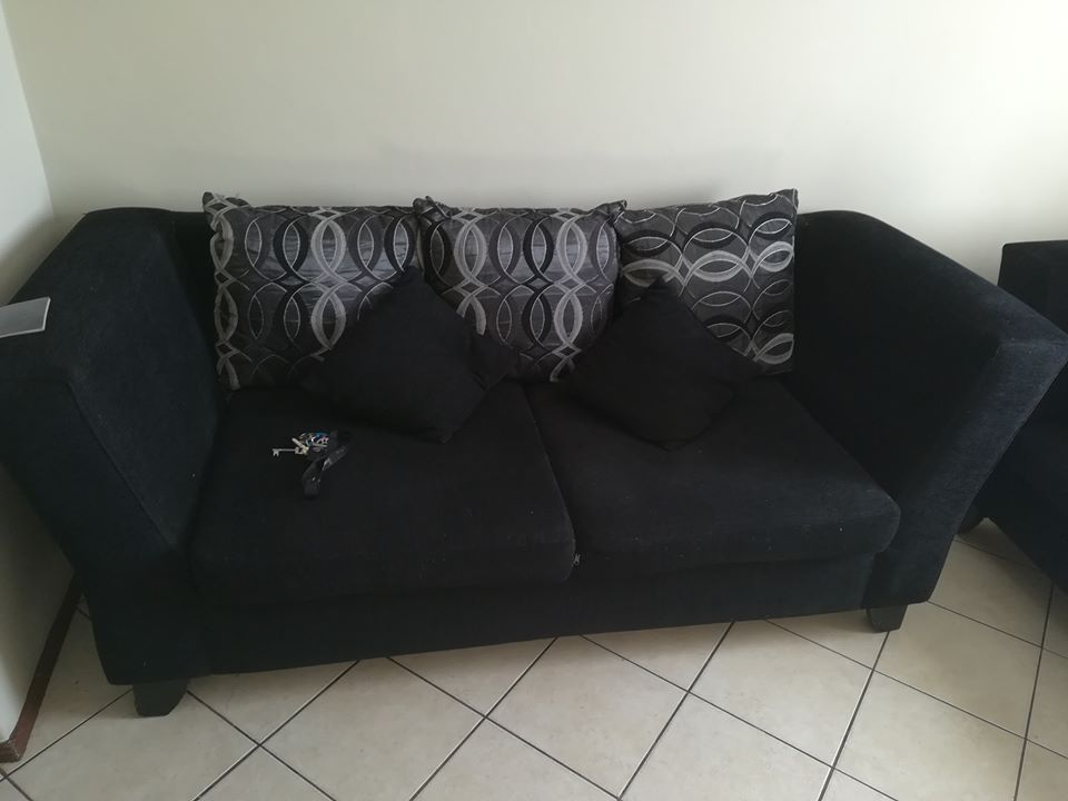 2 Seater Couch with Pillows