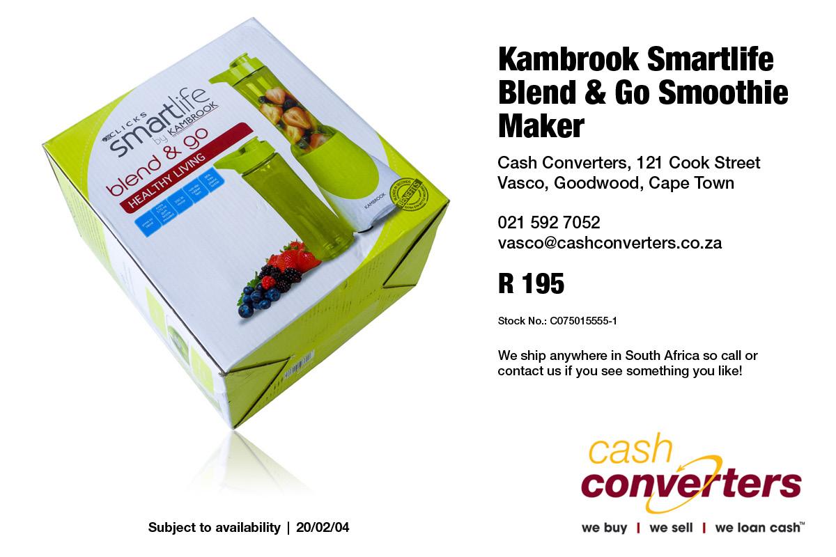 Kambrook Smartlife Blend & Go Smoothie Maker