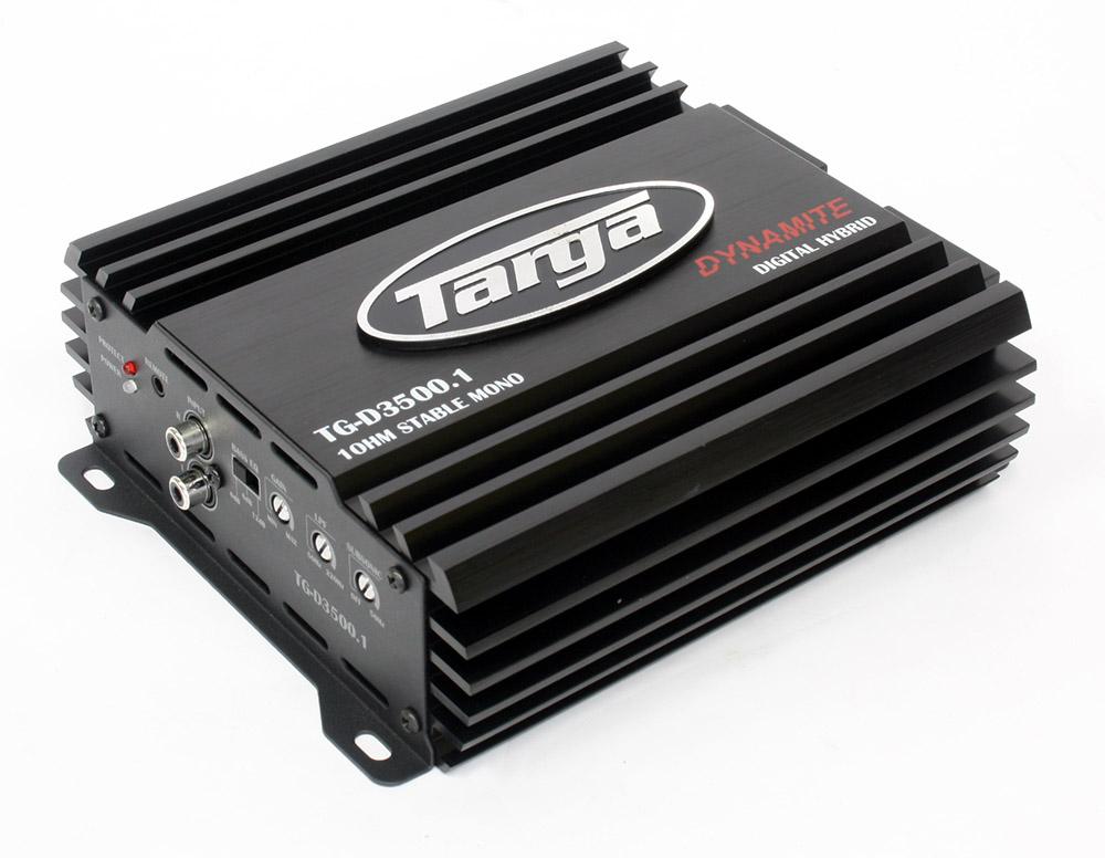 Targa Dynamite 3500 1ohm Amplifier