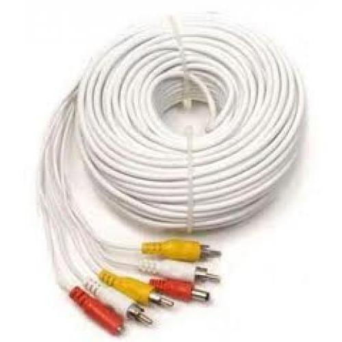 30M Power & Video CCTV Camera Cable