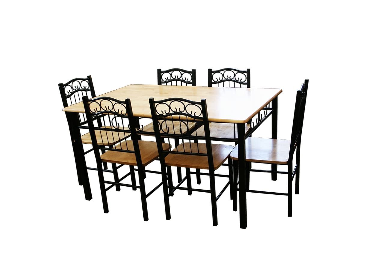 6 Seater Dining Set for Sale!