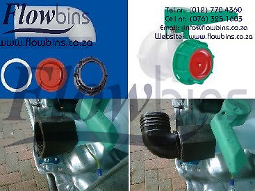 1000L Flowbin tank Spares, Adaptors, Piping and Fittings from R22