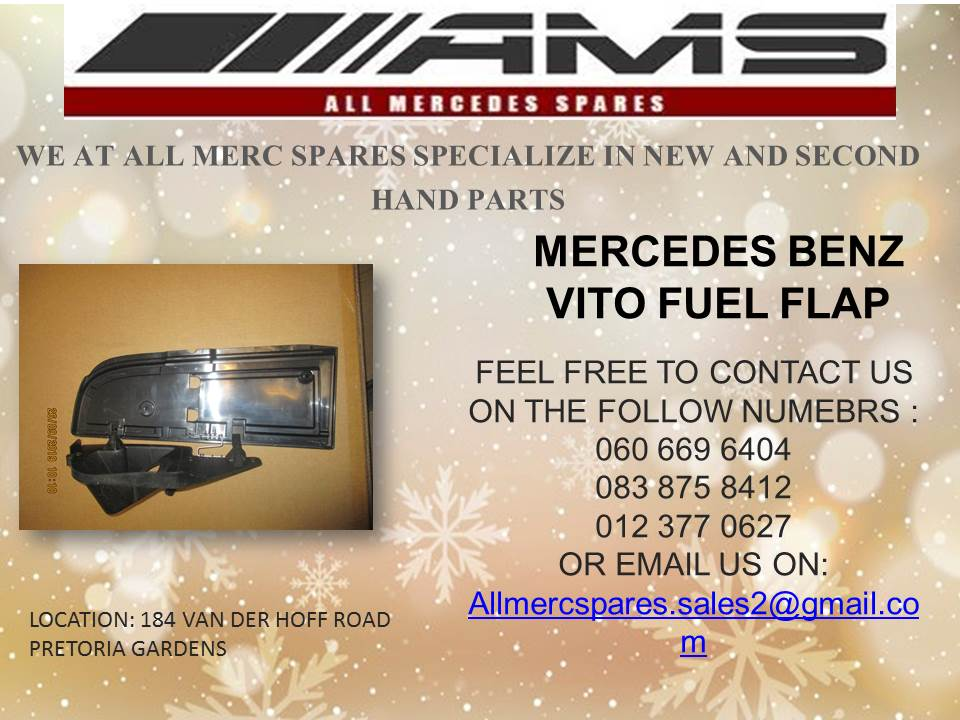 MERCEDES BENZ FUEL FLAPS FOR SALE (VITO)