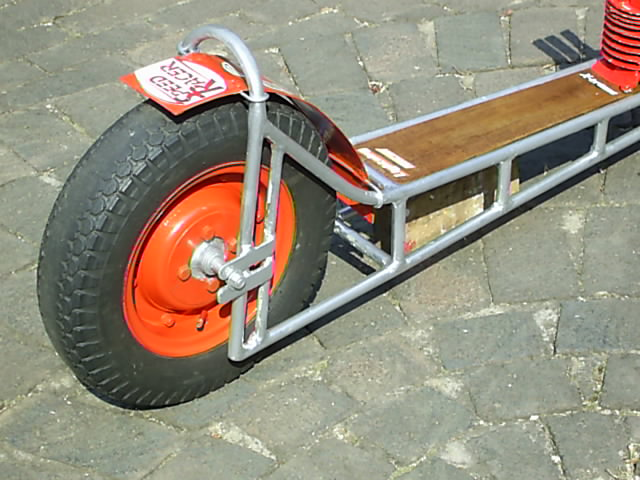 Scooter, Dragster Style