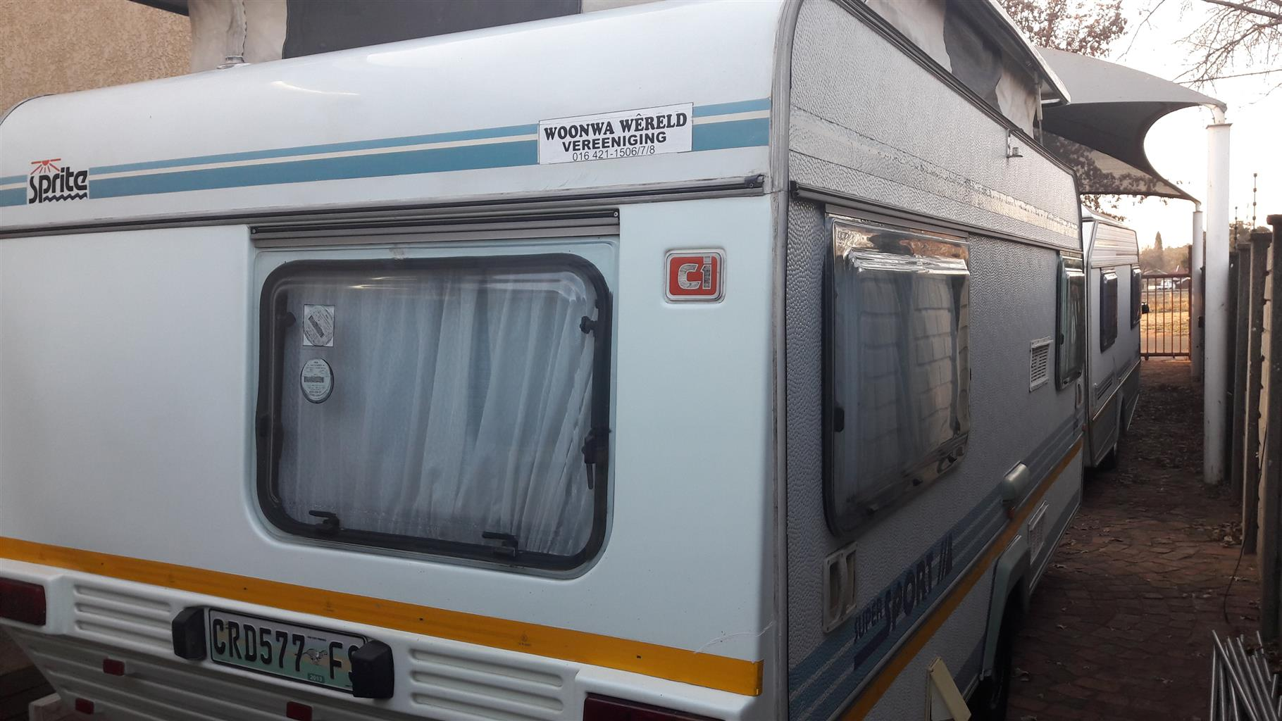 sprite super sport 1989 model in vereeniging with full tent and rally tent