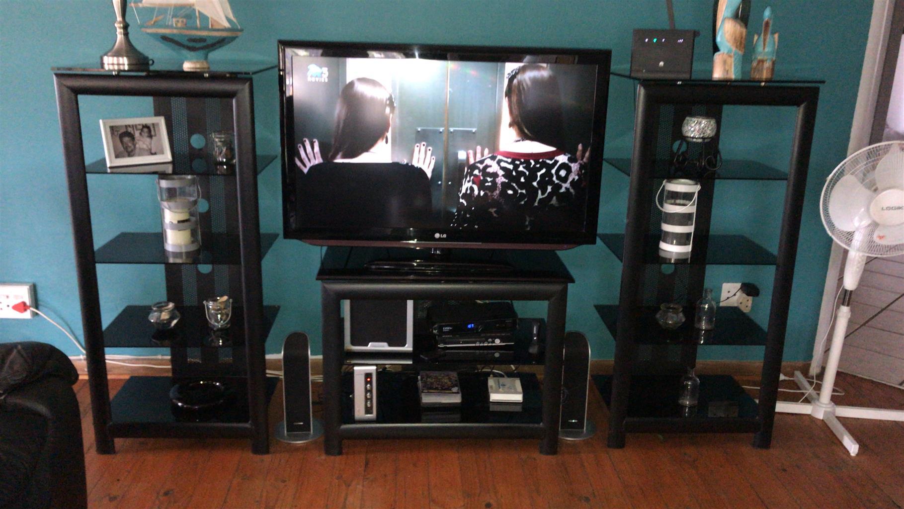 Tv Stand & LG Tv