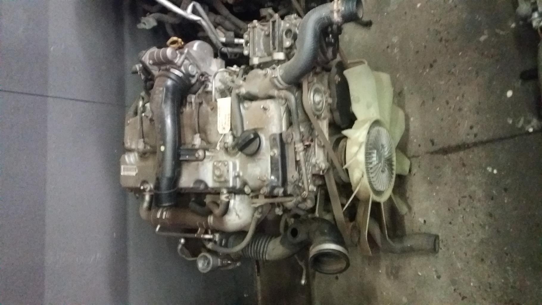 Isuzu KB250 2.5 D-TEC Twin Cam 16V Engine # 4JK1