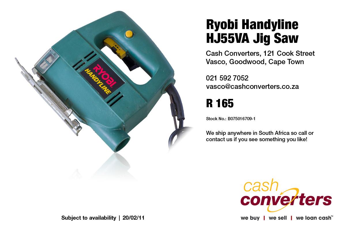 Ryobi Handyline HJ55VA Jig Saw