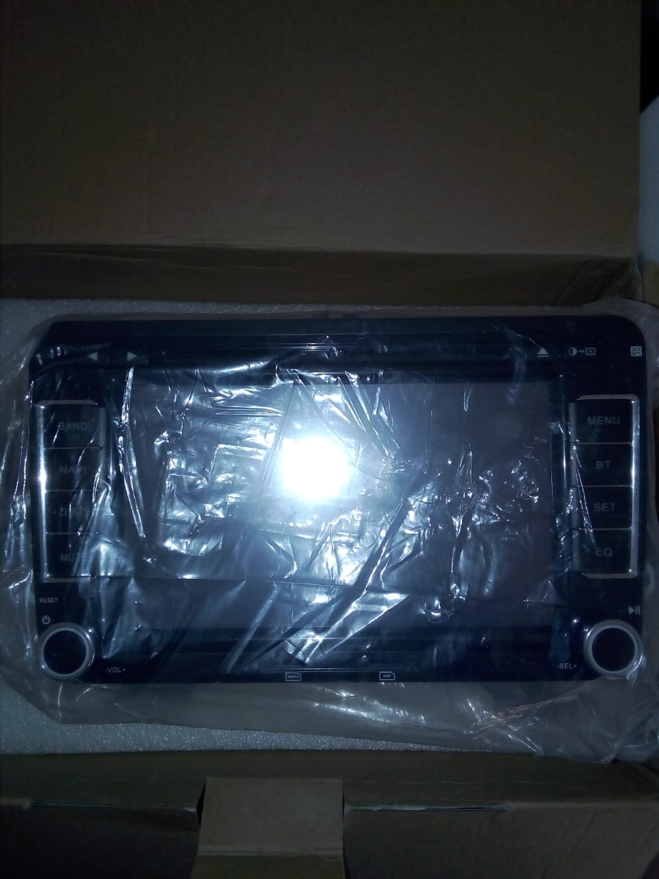Double Din Media Player with GPS