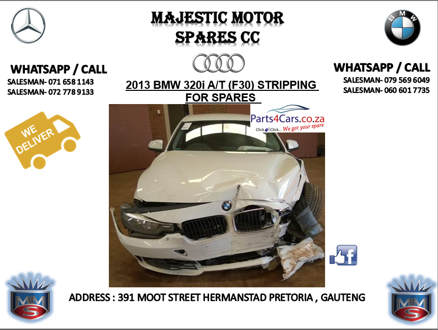 bmw 320i stripping for spares