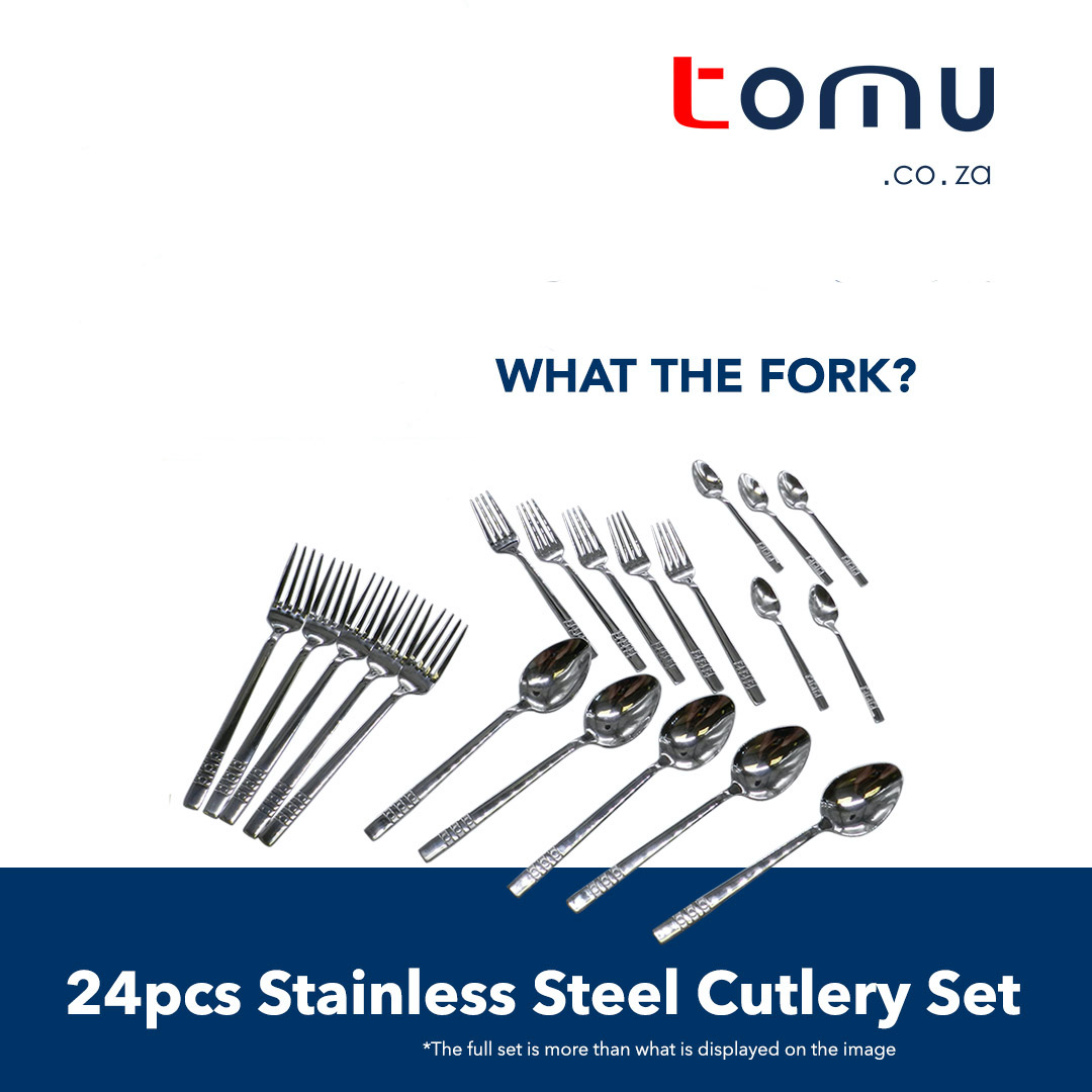 24 pcs Stainless Cutlery Set