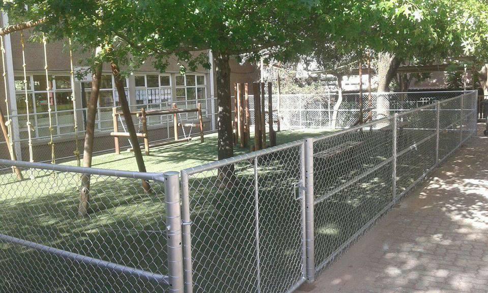 Diamond Mesh Fence LJB